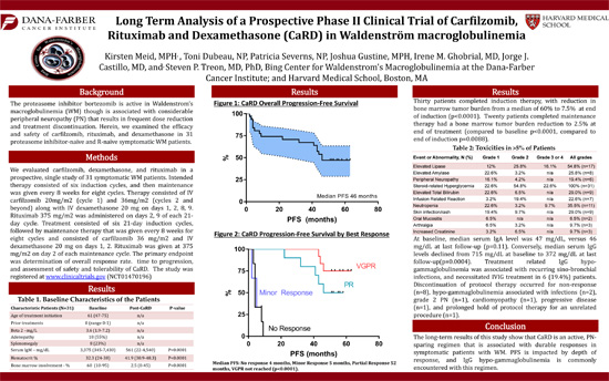 Long-Term Analysis of a Prospective Phase II Clinical Trial of Carfilzomib, Rituximab and Dexamethasone (CaRD) in WM