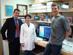 Dr. Steven Treon, Lian Xu, and Zachary Hunter